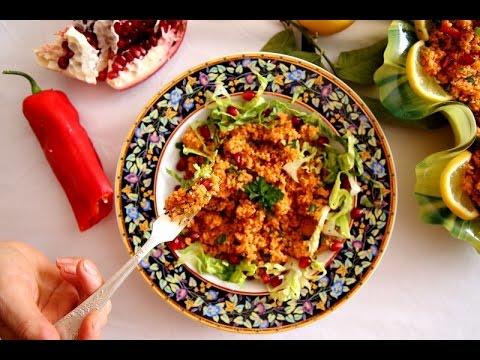 Bulgur Salad Recipe – Itch Salad – Armenian Cuisine – Heghineh Cooking Show