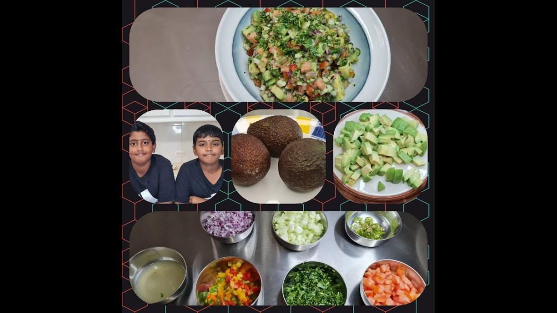 Avocado Salad  | Vegan  | Healthy Food
