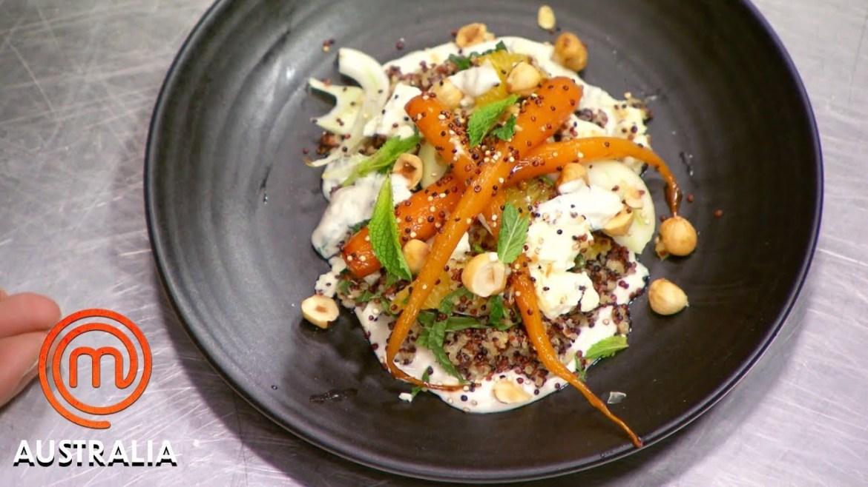 Salad Recipe Elimination Challenge In 30 Minutes! | MasterChef Australia | MasterChef World
