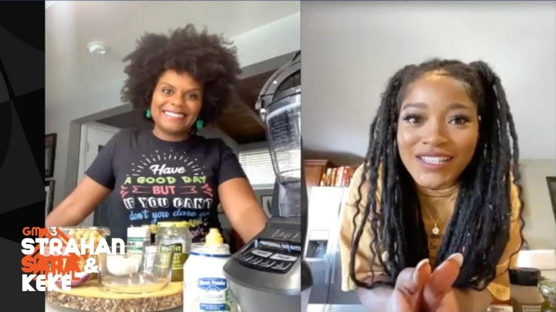 Tabitha Brown makes her vegan chickpea 'untuna' salad