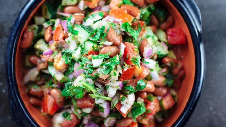 Mediterranean Kidney Bean Salad | The Mediterranean Dish