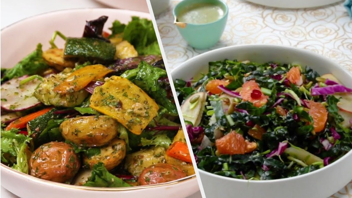 Salad Recipes That Will Fill You Up