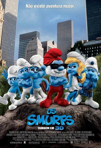 Poster do filme Os Smurfs