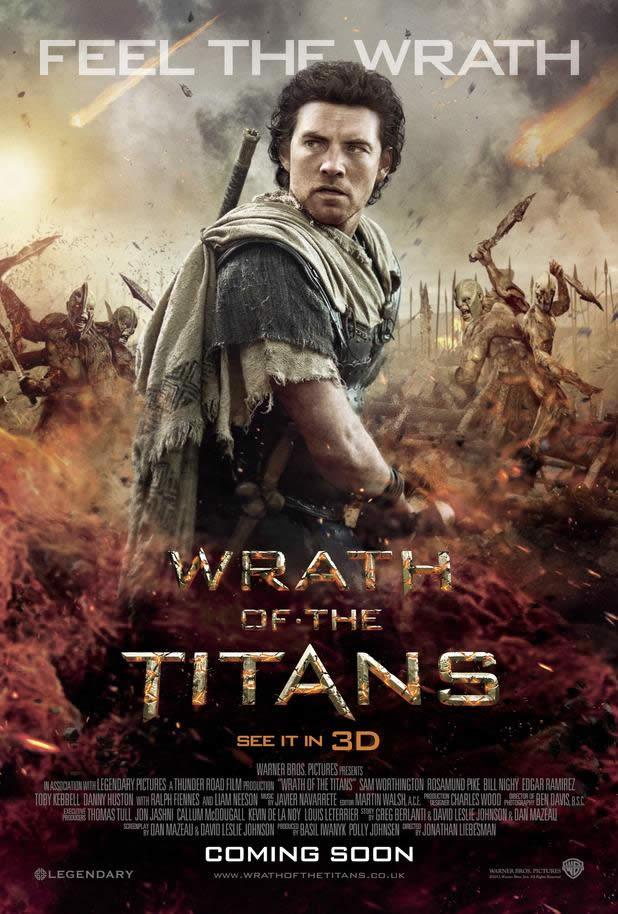 Poster do filme Fúria de Titãs