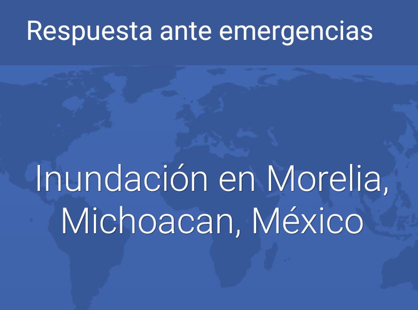 Activa Facebook respuesta ante emergencias por inundación en Morelia