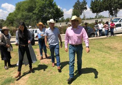 Recorre Tony Martínez municipios de región oriente y entrega apoyos