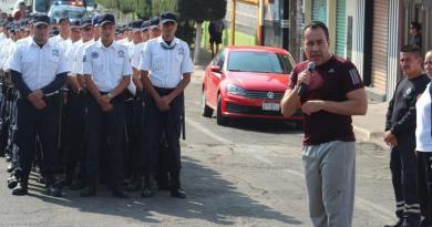 Refuerzan tareas de seguridad en Zitácuaro durante Semana Santa
