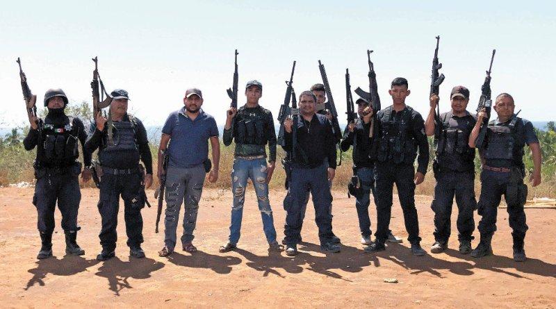 NADA PERSONAL La línea muy delgada entre autodefensas y criminales
