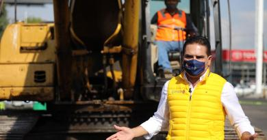 Da Silvano Aureoles banderazo de arranque de construcción del Distribuidor Vial Mil Cumbres