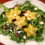 Mixed Greens & Herbs With Feta & Star Fruit Dressing