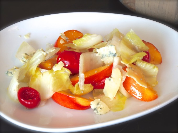 Hearts of Endive With Nectarines