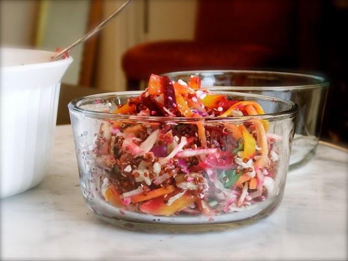 Beet & Quinoa Slaw Salad