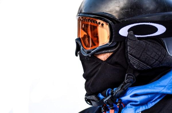 Snowboarder Montafon