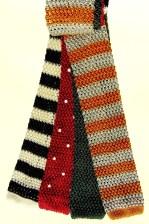 Silk knit ties, shopping, fashion.