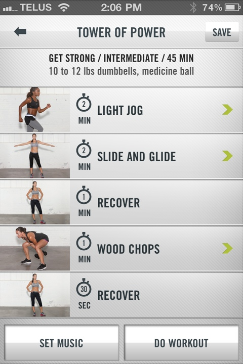 The World's Greatest Fitness iPhone App