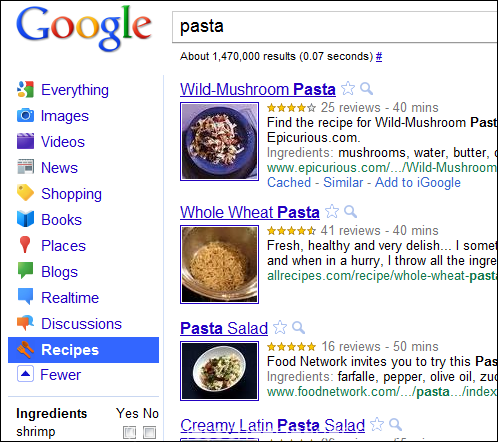 Food Friday: How to format your recipes for rich snippets