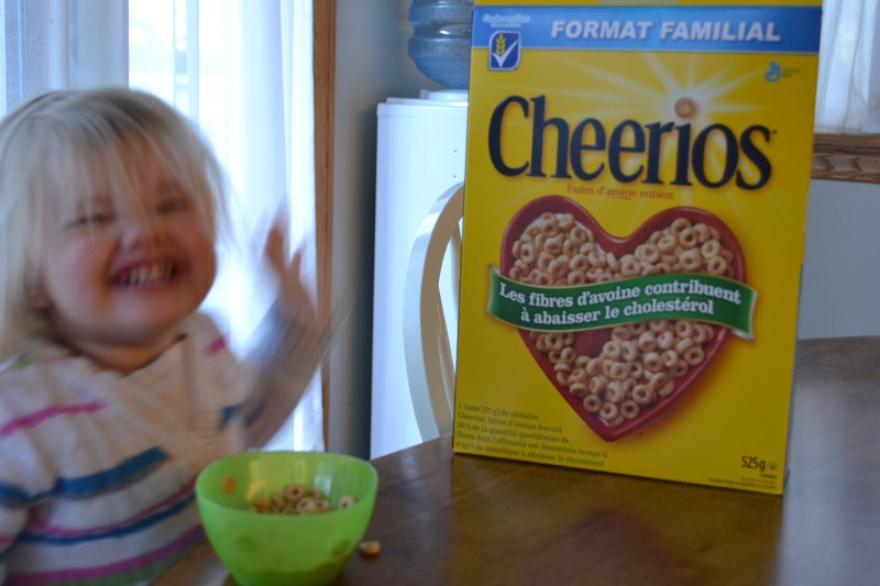 First Cheerios Memories