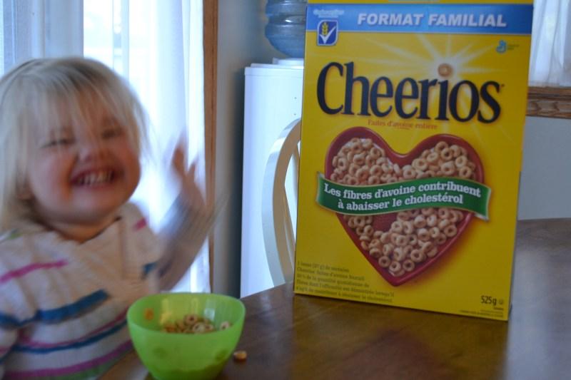 First Cheerios Memories