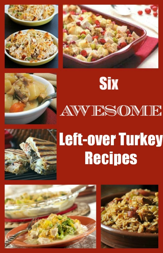 6 Awesome Leftover Turkey Recipes