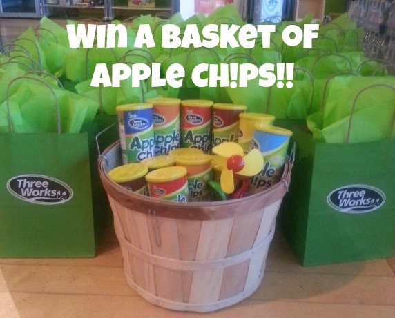 Win a Basket of @ThreeWorks_ Apple Ch!ps!