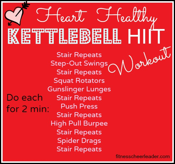 Happy Valentine's Day! Here's A Kettlebell HIIT Workout for You