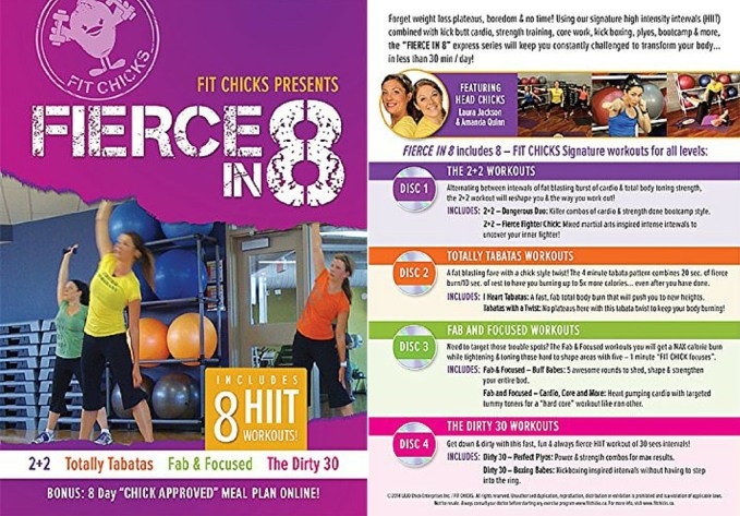 FIT CHICKS Fierce in 8 DVD Box Set Review and Giveaway!