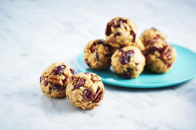 Fruit-n-Nut Peanut Butter Snack Bites