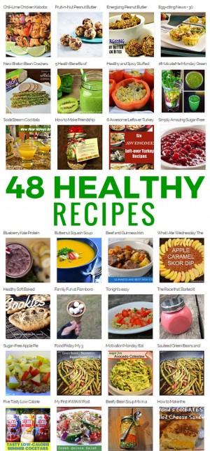 48 Healthy Recipes