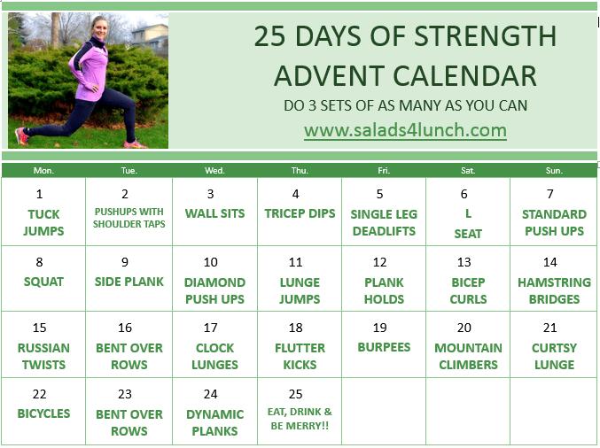25 Days of Strength Advent Calendar