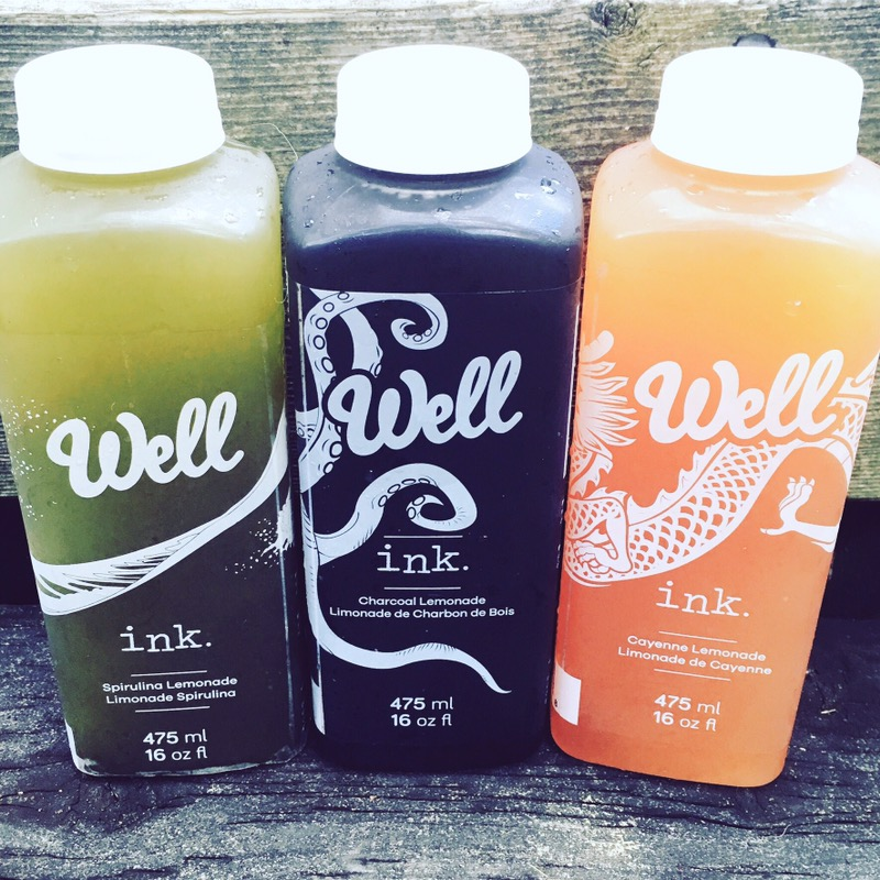 Introducing Well INK Cold Pressed Lemonade