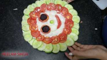 Salad Decoration Salad Videos