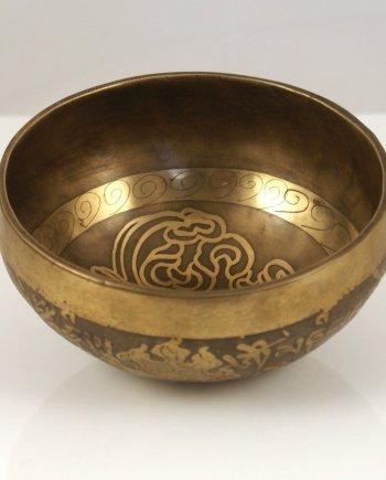 Singing Bowl 10cm Handmade Brass.