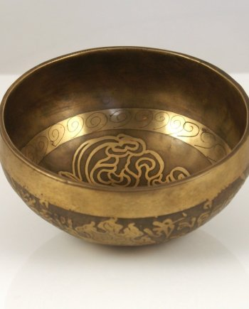 Singing Bowl 10cm Handmade Brass.