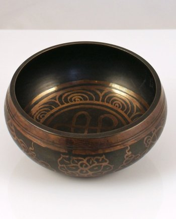 11cm Singing Bowl in Black