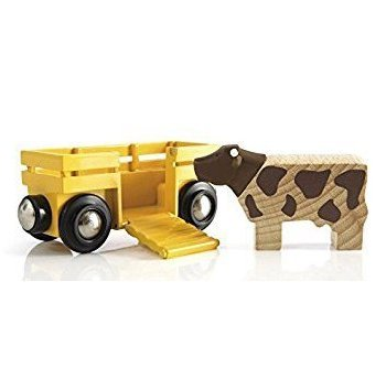 cow and wagon