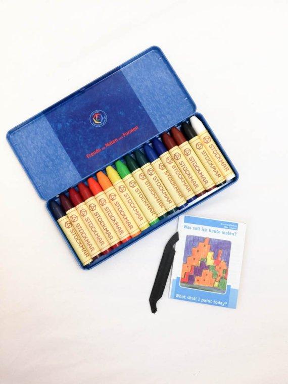 Stockmar Crayon Sticks Set of 16