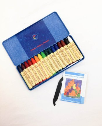 Stockmar Crayon Sticks Set of 16