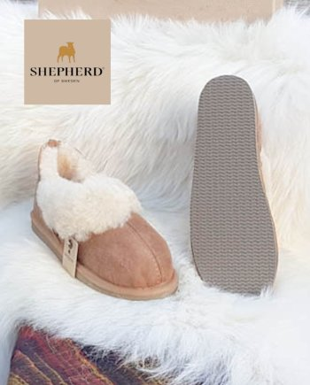 Shepherd slipper Ladies Karin Chestnut