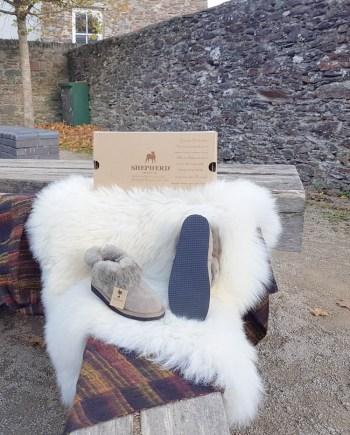 Shepherd slipper Ladies Karin stone