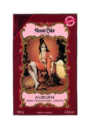 Henna Auburn Colouring & Conditioning Powder
