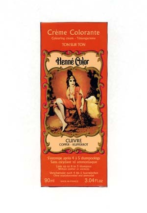 Henna Copper Colouring Cream