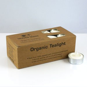 24 Tealights by Heaven Scent