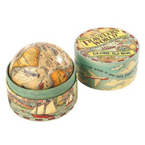 Traveler's World Globe in a Box by Authentic Models