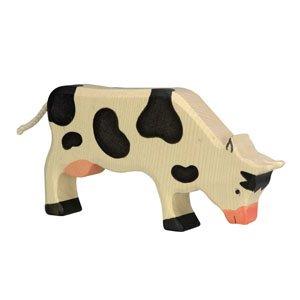 Holztiger Black Cow Grazing