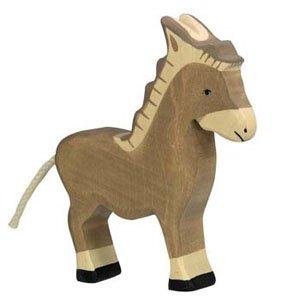 Holztiger Donkey