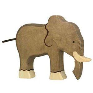 Holztiger Elephant, Wooden Animals