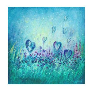 Love each moment as the flowers love by Annie B