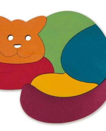 rainbow cat puzzle