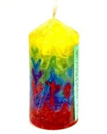Mikal pillar candle
