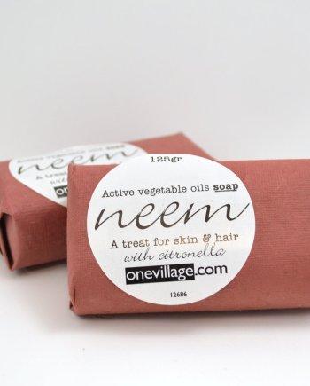 neem vegetable oil soap